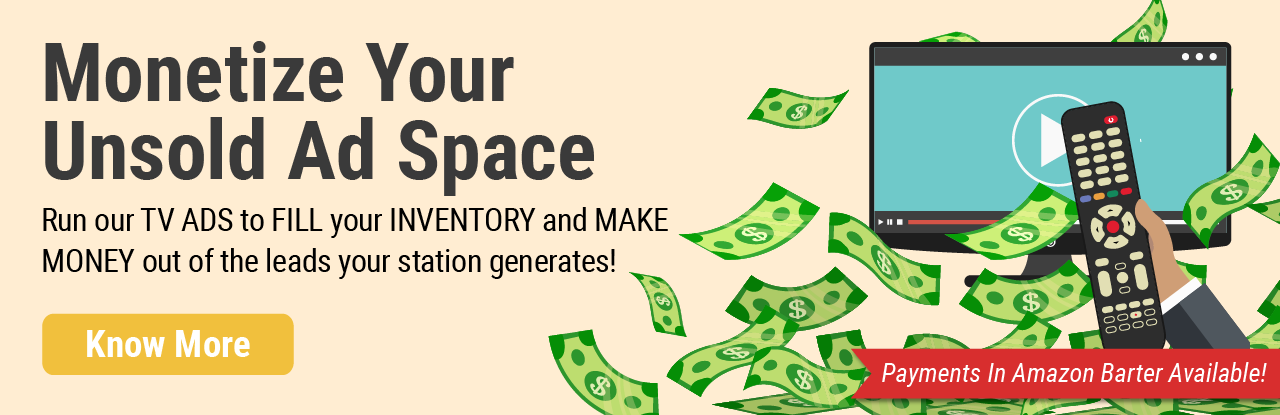 Monetize Your Unsold Ad Space